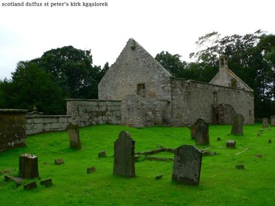 Duffus St Peters Kirk and Parish Cross (2)