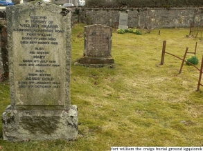 fort william the craigs burial ground (3)